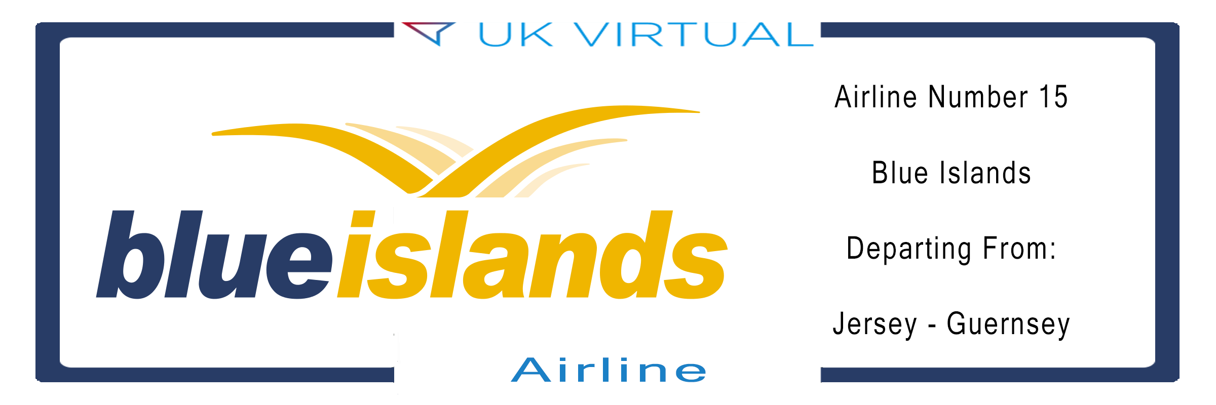 Airline Number 15: Blue Islands