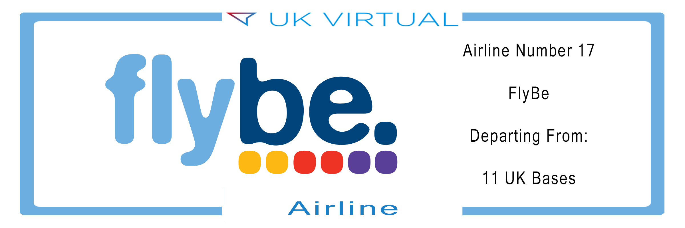 Airline Number 17: FlyBe