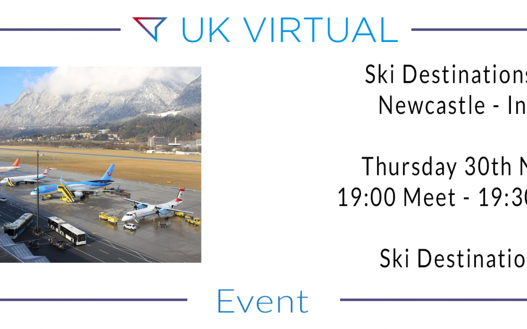 Group Flight : Newcastle to Innsbruck