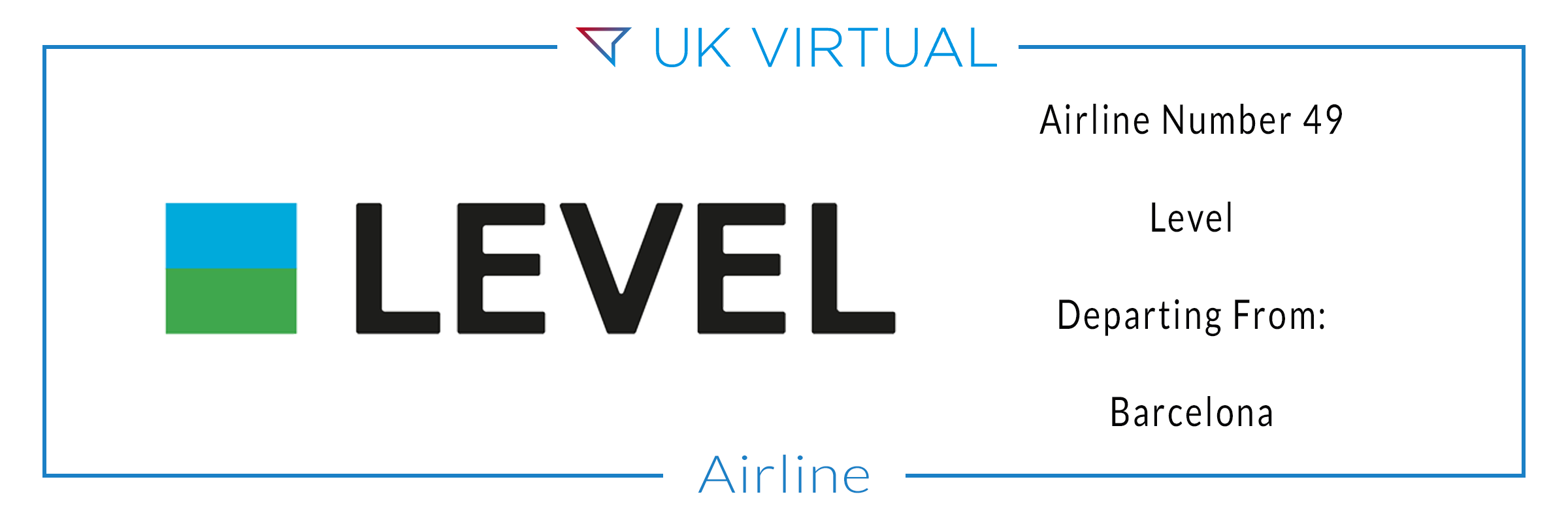 Airline Number 49: Level