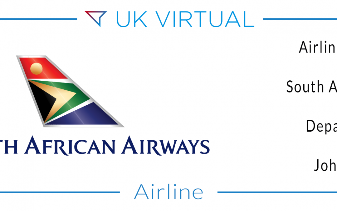 Airline Number 57: South African Airways