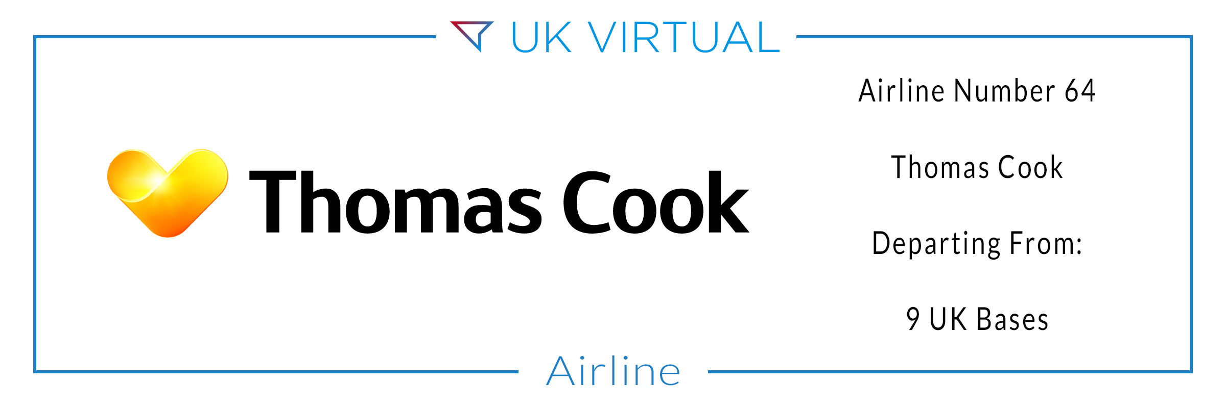 Airline Number 64: Thomas Cook