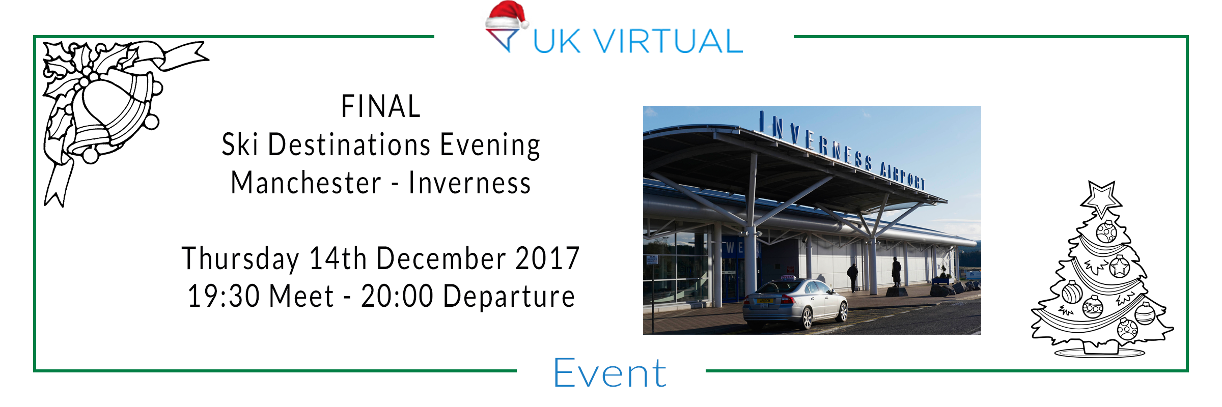 FINAL Ski Destinations evening : Manchester to Inverness