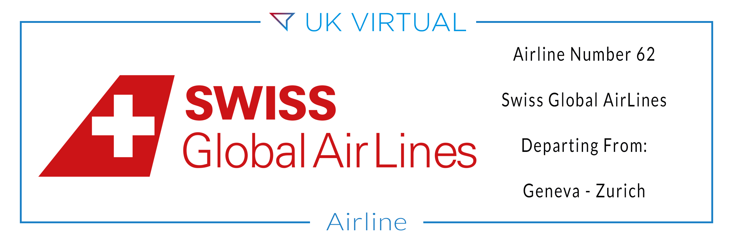 Airline Number 62: Swiss Global Air Lines