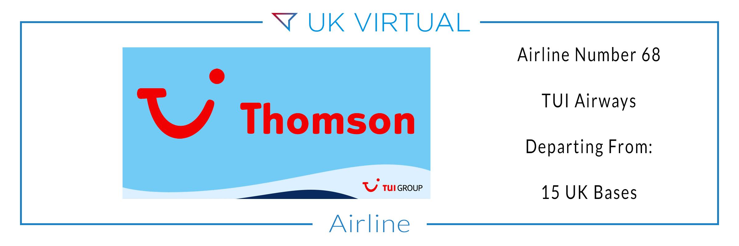 Airline Number 68: TUI Airways