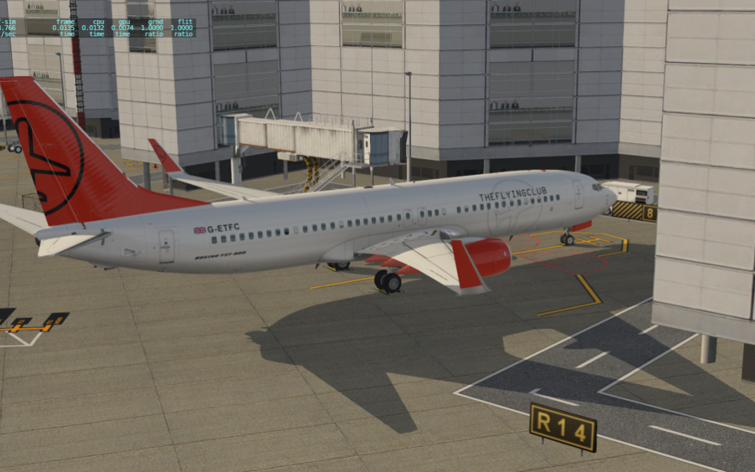 The Flying Club 737 XPLANE Livery