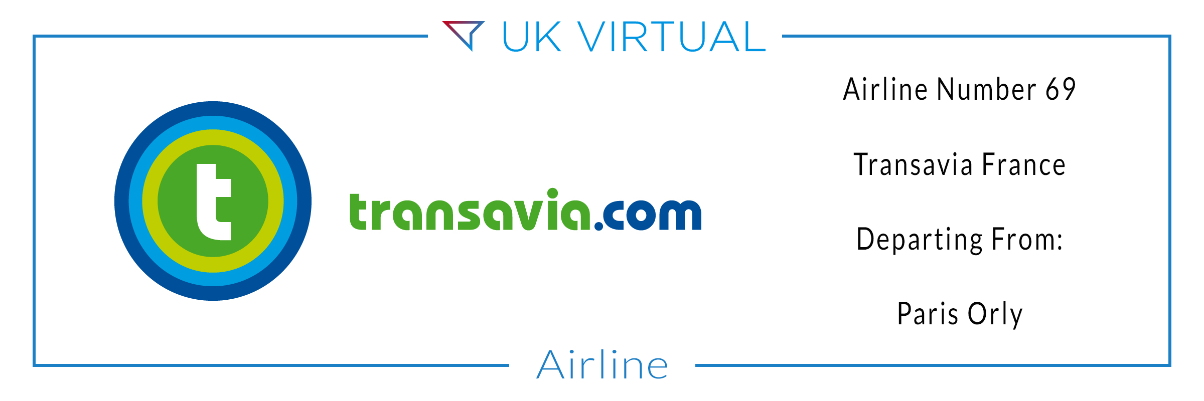 Airline Number 68: Transavia France