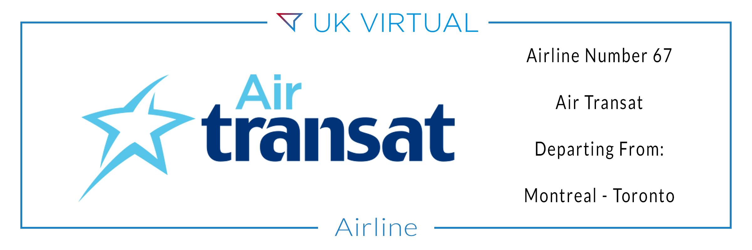 Airline Number 67: Air Transat