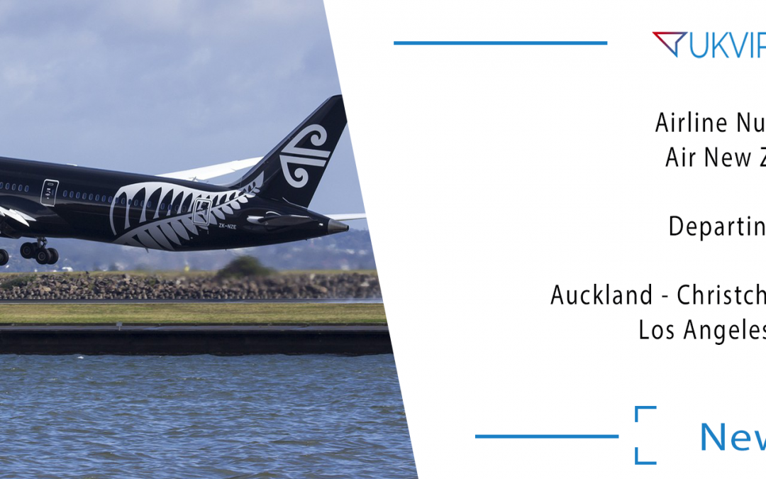 Airline Number 88: Air New Zealand