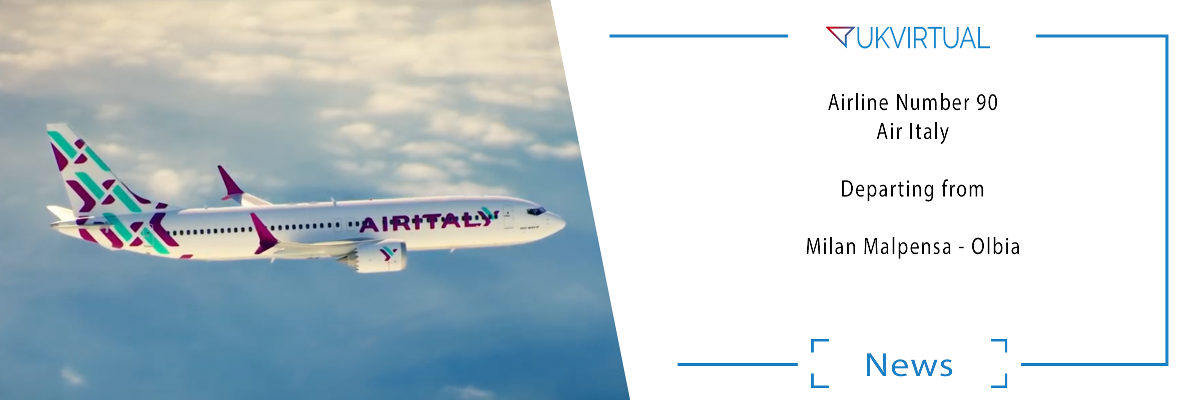 Airline Number 90: Air Italy