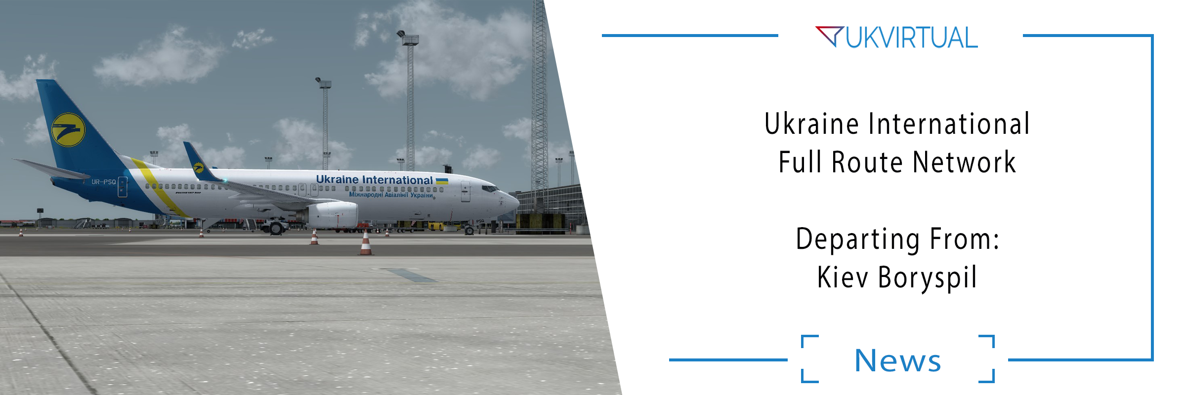 Ukraine International – Full Route Network