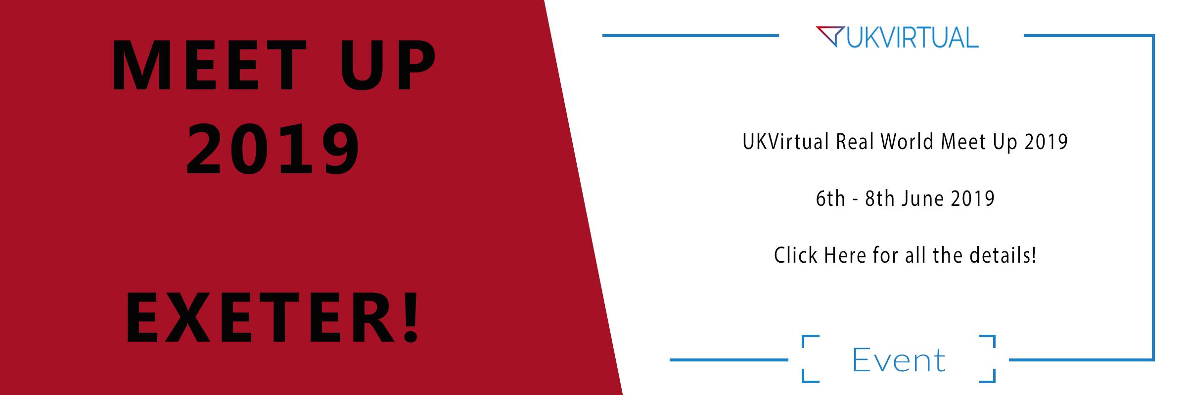 UKVirtual Real World Meet up 2019!