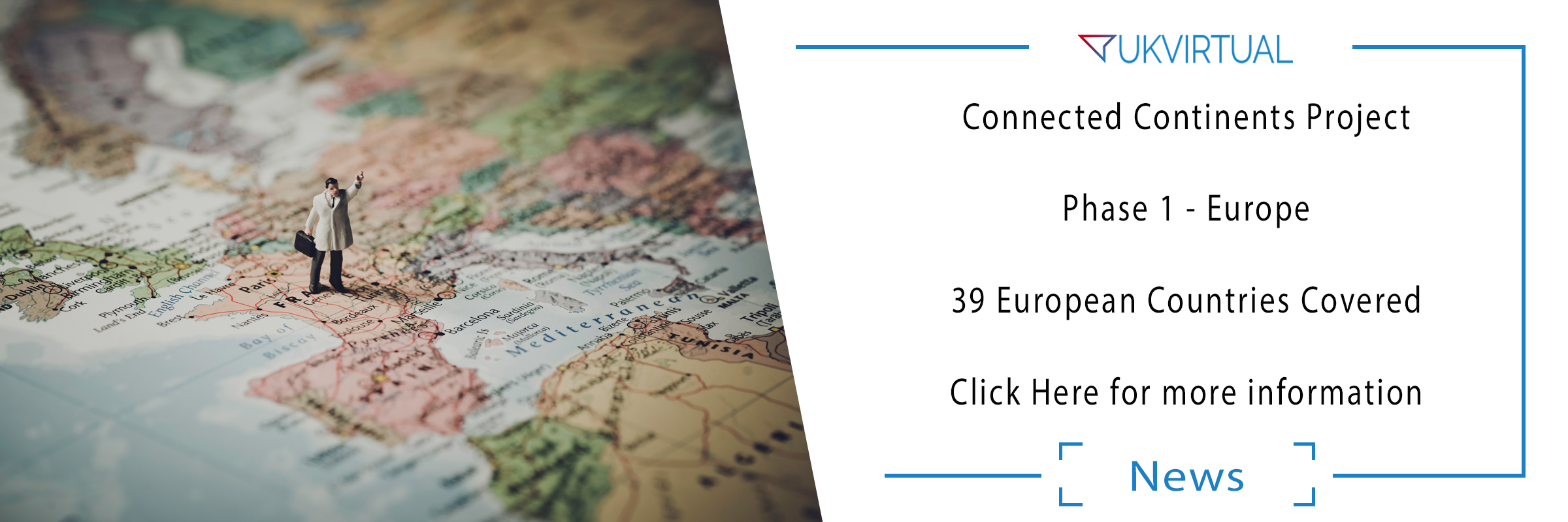 Connected Continents Project – Phase 1 Europe – COMPLETE!
