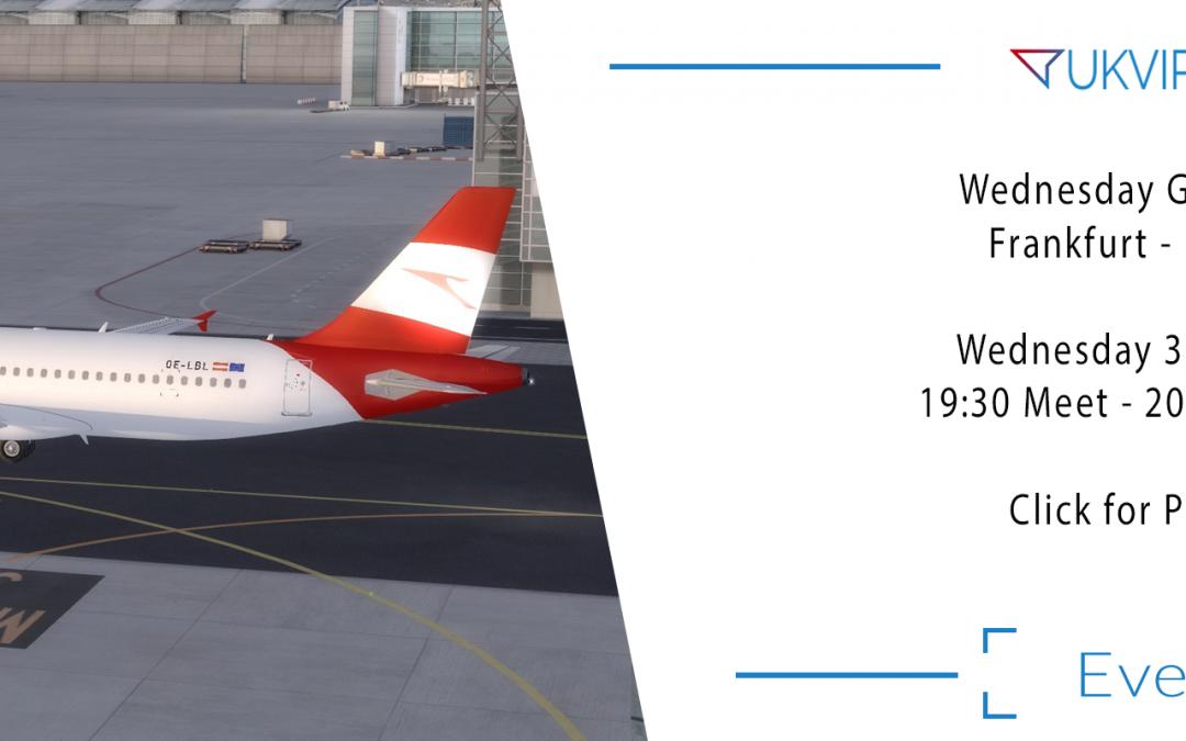 Group Flight Night: Frankfurt – Innsbruck