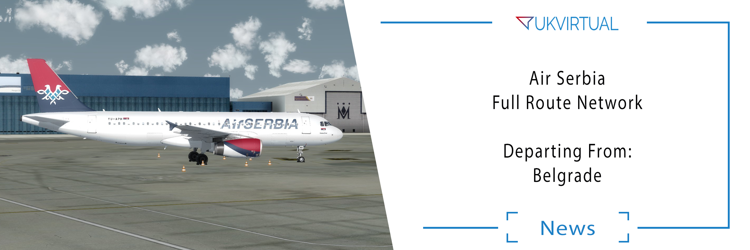 Air Serbia – Full Route Network