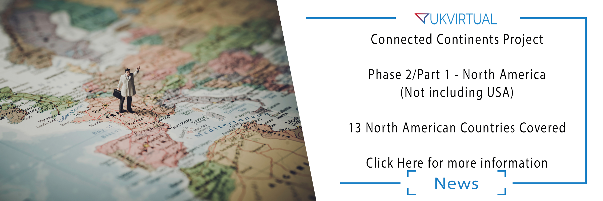 Connected Continents Project – Phase 2/Part 1 – North America – COMPLETE!