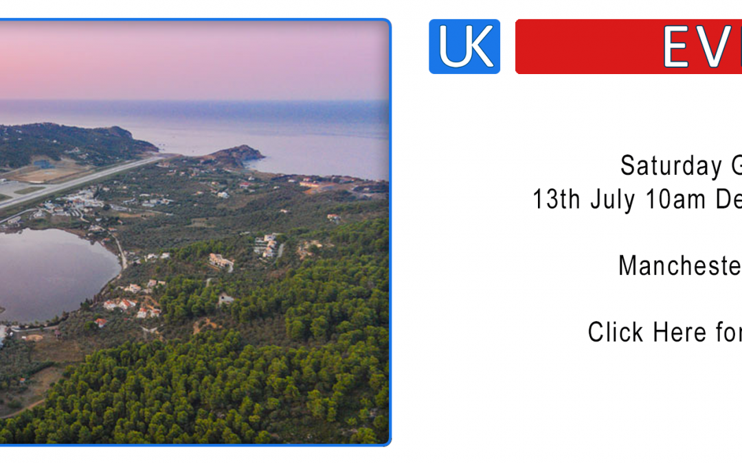 Group Flight – Manchester/Skiathos – Saturday 13th July