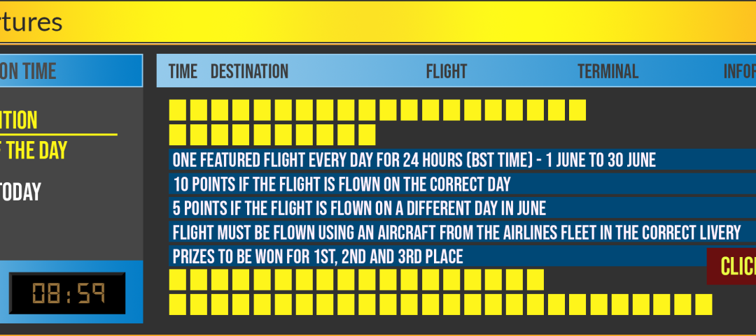 Flight A Day Competition
