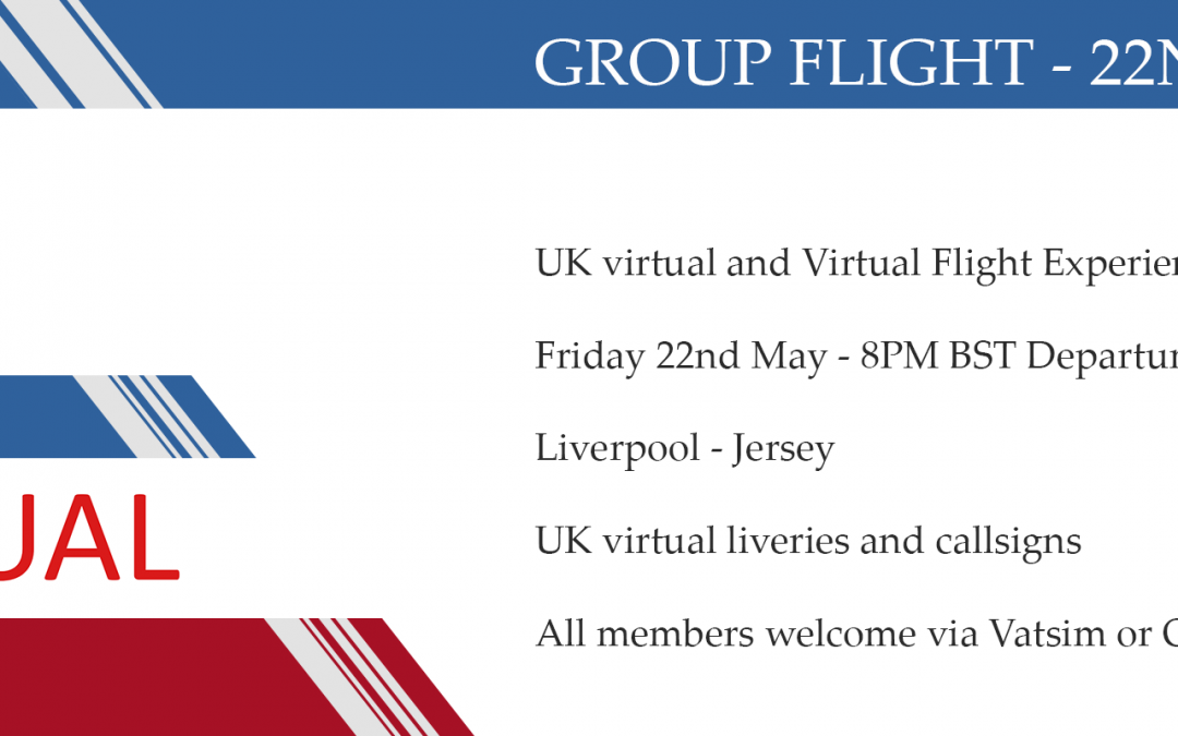UK virtual / VFE Group Flight