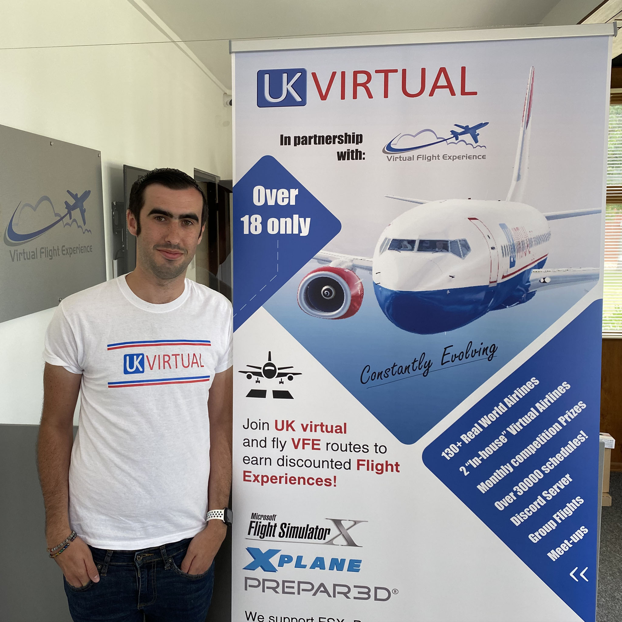 UK virtual launches flyVFE