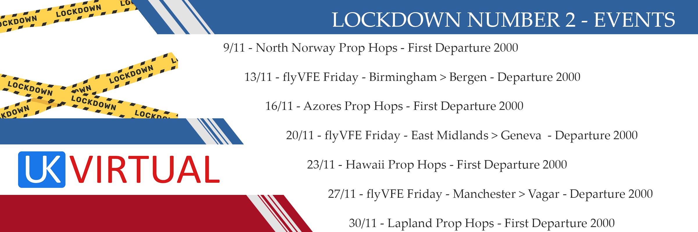 Lockdown Number 2 – Events