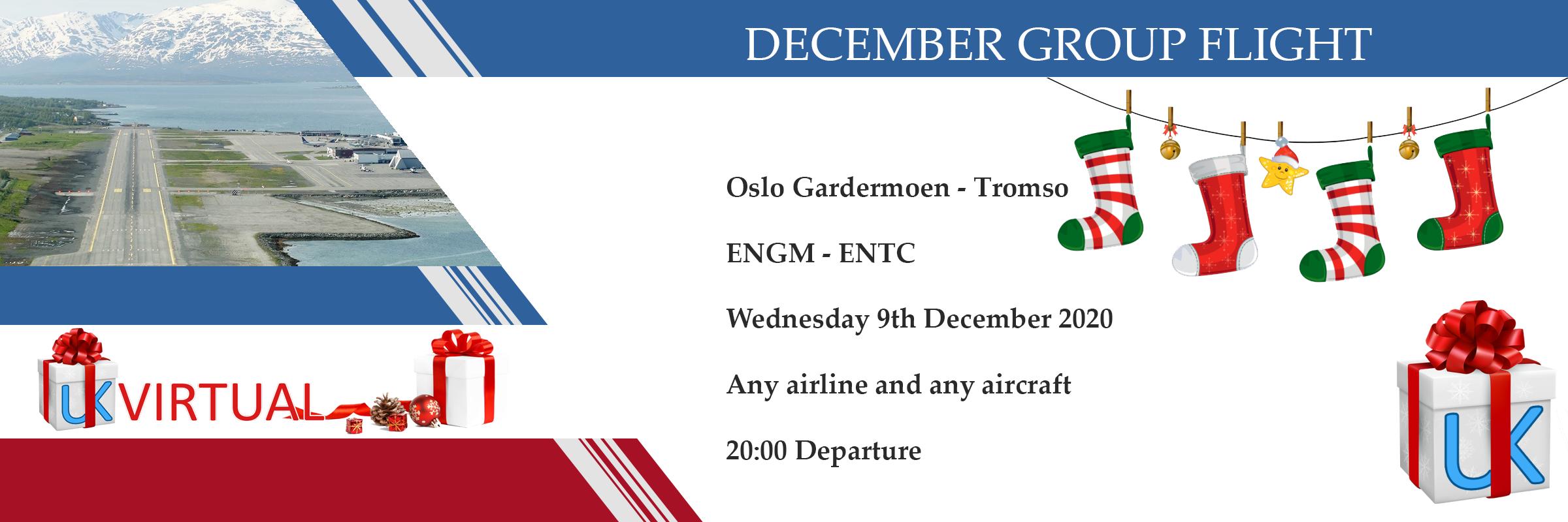 New Group Flight – 09/12/2020 20:00