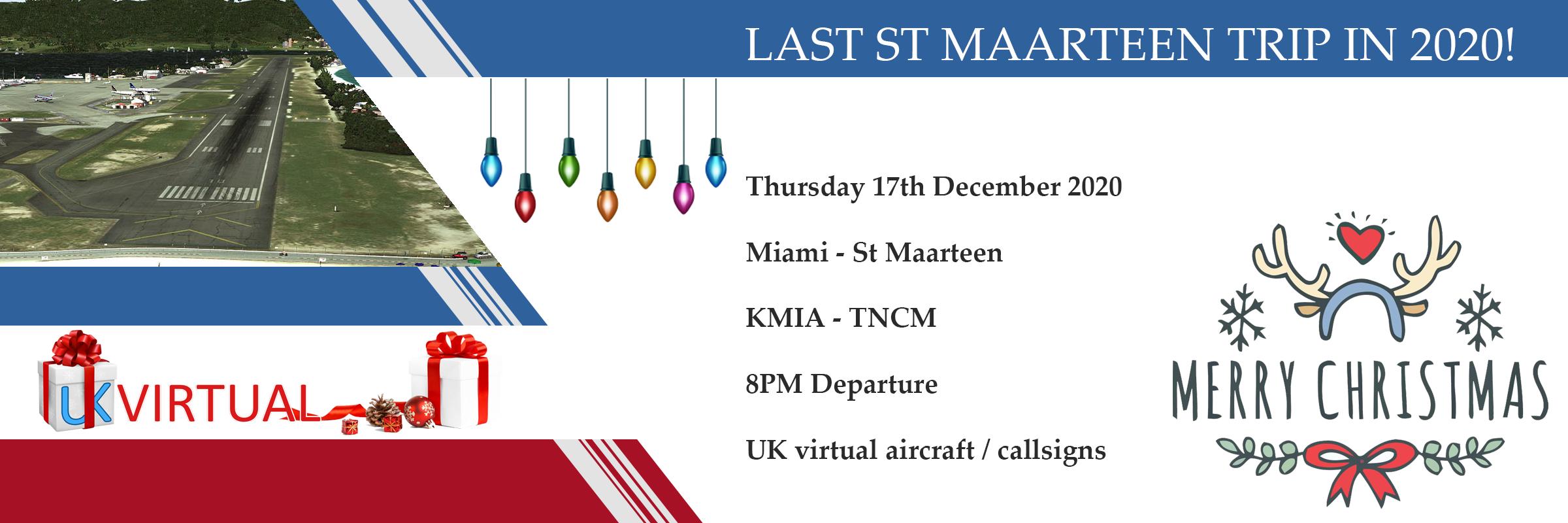 New Group Flight – 17/12/2020 20:00