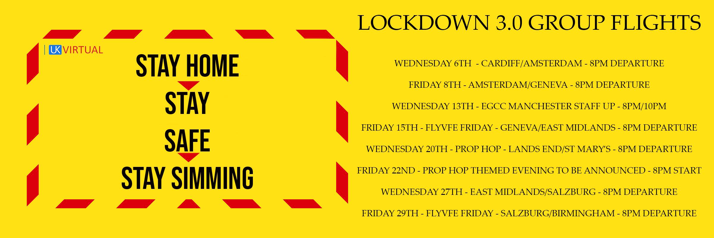 Lockdown Group Flights