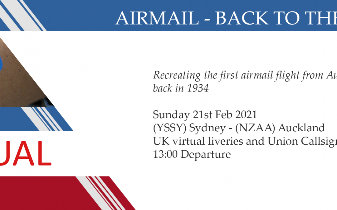 New Group Flight – 21/02/2021 13:00
