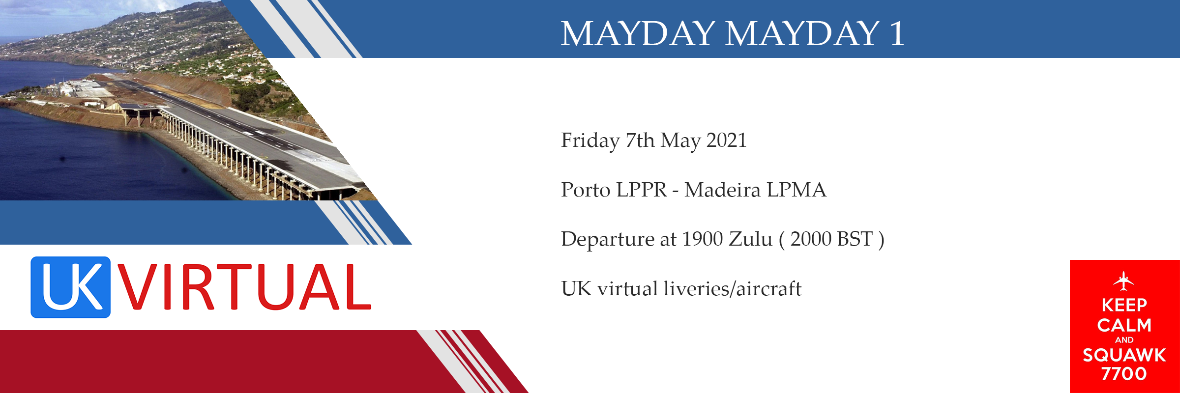 Mayday 1 Porto to Madeira