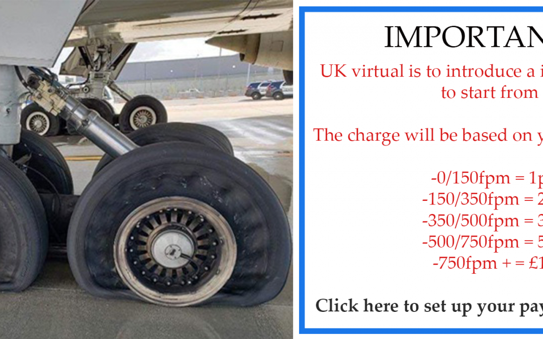 UK virtual to charge for landing's