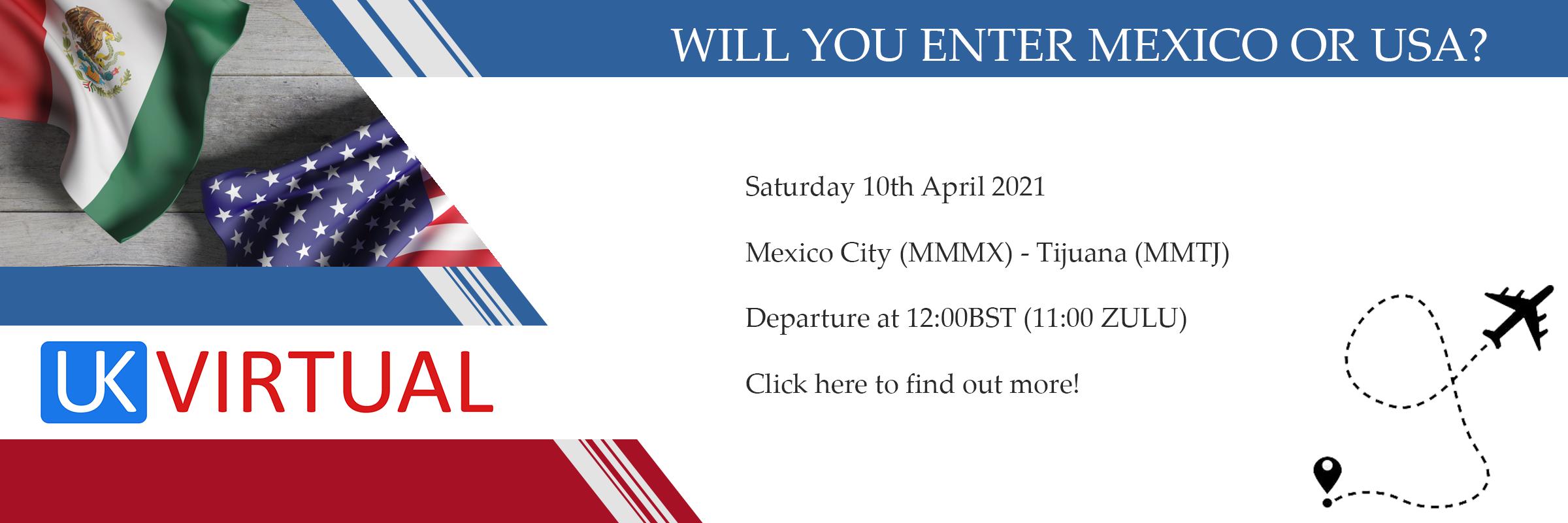 New Group Flight – 10/04/2021 11:00