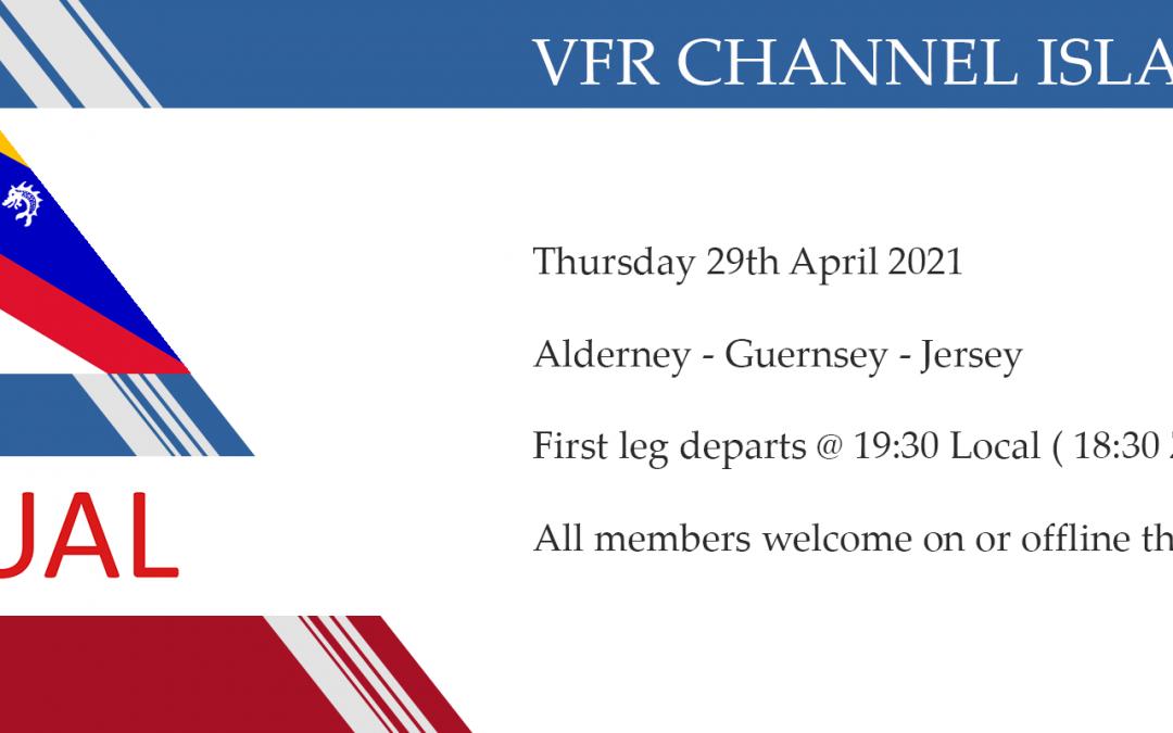 VFR group flight Channel Islands Hopping