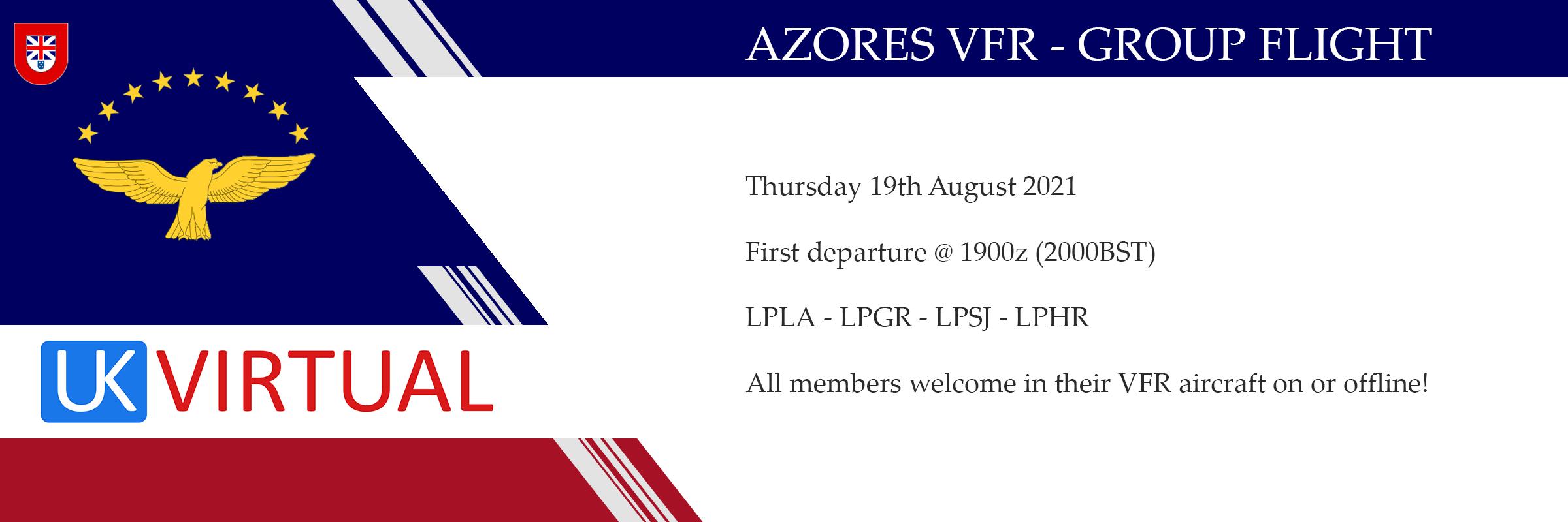 AZORES VFR Group Flight