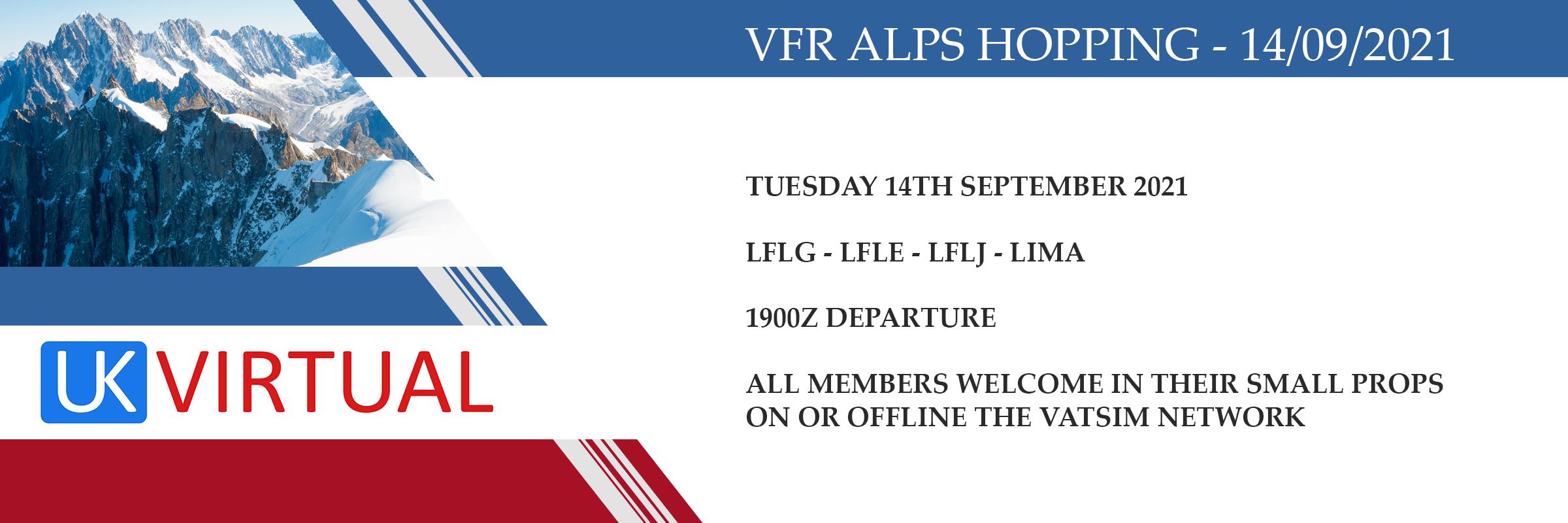 New Group Flight – 14/09/2021 19:00
