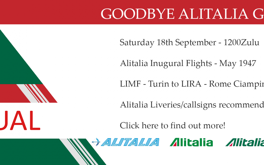New Group Flight – 18/09/2021 12:00